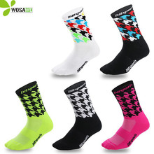 2019 Cycling Socks Top Quality Professional Sport Breathable Bicycle Stockings Outdoor Racing Riding Basketball Clothing
