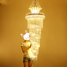 Modern Crystal Chandelier American Gold Chandeliers Lighting Fixture Warm White Neutral Cool 3 Colors Dimmable