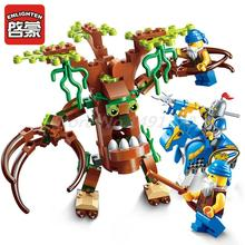 ENLIGHTEN 2302 The War Of Glory Series Encircle The Tree Building Blocks Set Bricks Educational Toys