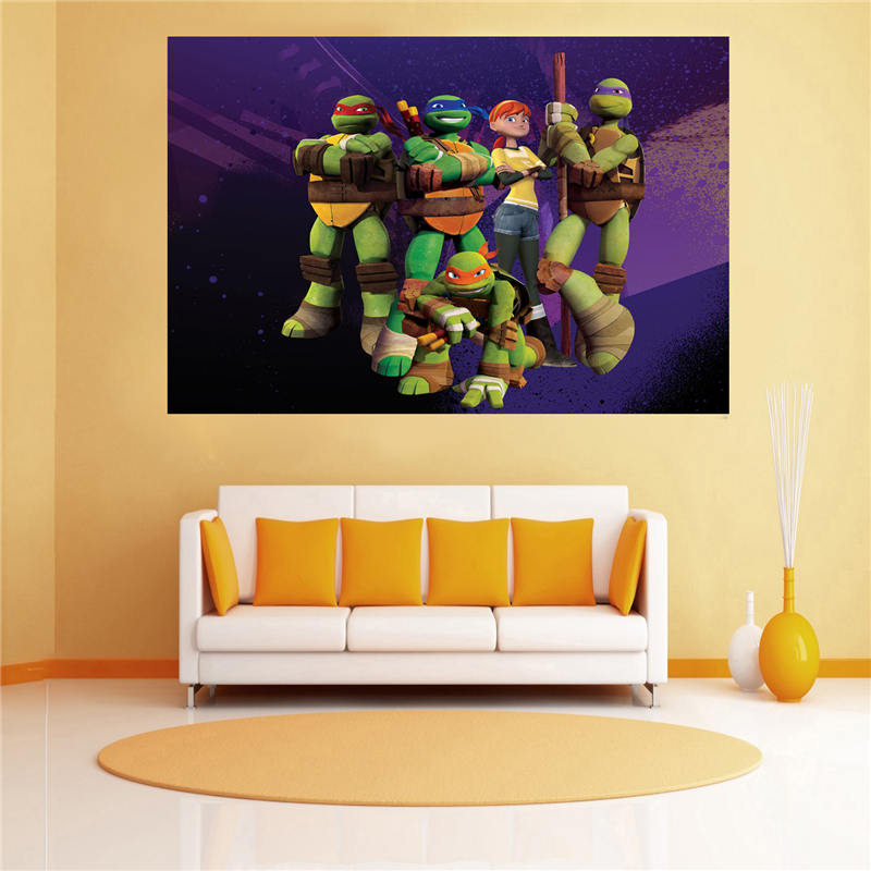 Teenage Mutant Ninja Turtles Out of the Shadows New Movie Silk Poster 001