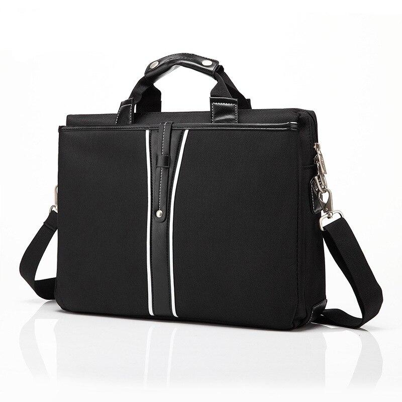 Luxe PU cuir 15 pouces sacoche pour ordinateur portable sac à bandoulière pour Dell Macbook Lenovo Messenger sacs sac à main pour ordinateur portable pour femmes hommes sacs