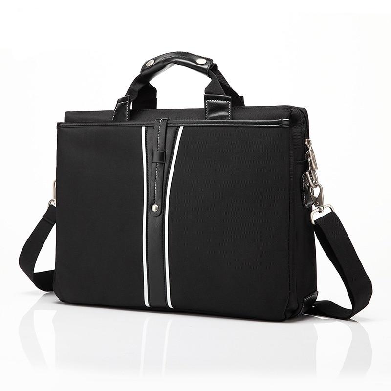 Luxury PU Leather 15 Inch Laptop Briefcase Shoulder Bag for Dell Macbook Lenovo Messenger Bags Laptop Handbag for Women Men Bags цены