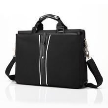 15 Inch Universal Men Briefcase Business Shoulder Leather Messenger Bags Computer Laptop Handbag Men's Travel Bags for Macbook