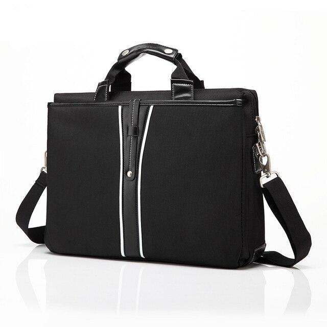 5e33a22d68ed Luxury PU Leather 15 Inch Laptop Briefcase Shoulder Bag for Dell Macbook  Lenovo Messenger Bags Laptop Handbag for Women Men Bags