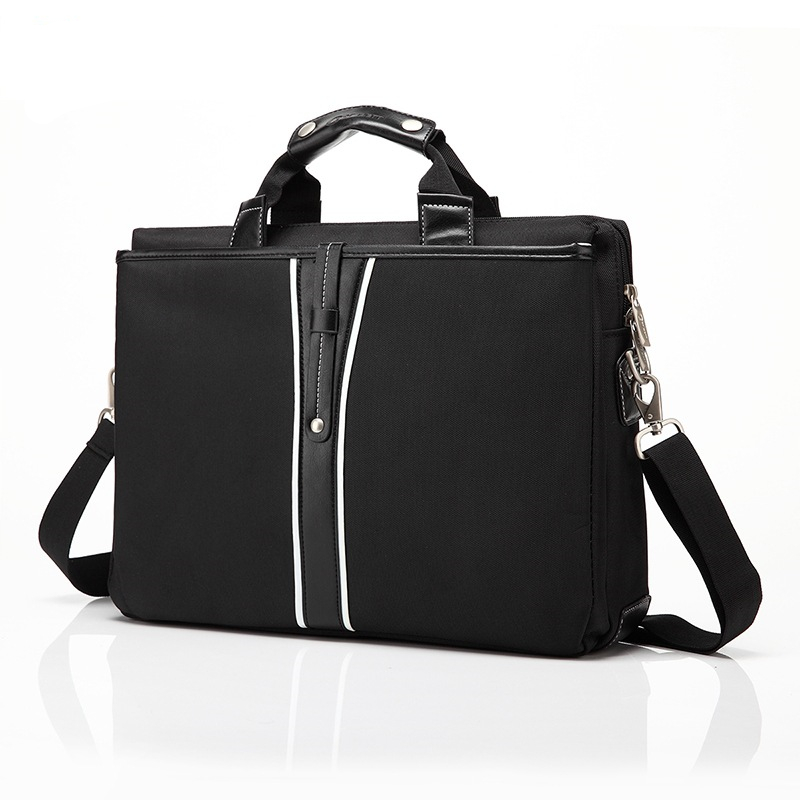 Luxury PU Leather 15 Inch Laptop Briefcase Shoulder Bag for Dell
