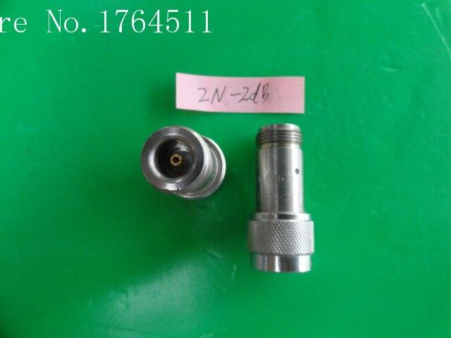 [BELLA] INMET 2N-2dB DC-18GHz Att:2dB P:2W N Coaxial Fixed Attenuator