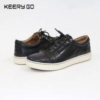 Novos modelos de produtos high-end, sapatos de couro, sapatas do lazer, sapatas das mulheres, sapatos, zipper