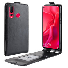 Vertical Wallet Leather Flip Case for HuaweI Nova 5 4 3 2 4e 3e 2s 3i 5i Cover Huawei plus With Card Phone Bag Shell