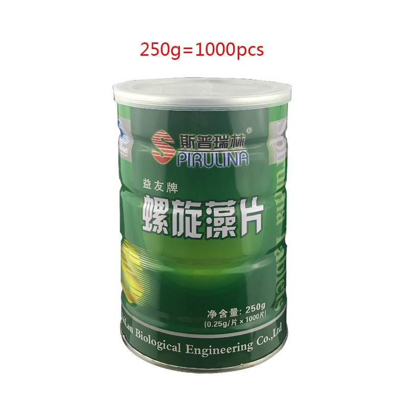 Image 5 - Comprimés de spiruline organique 100% naturel SpirulinaEnhance immunisé aliments santé Anti fatigue Anti radiation perte de poids 1000 piècesProduits dhygiène féminine   -