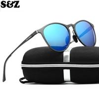 Luxury Brand Elegant Retro Round Sunglasses Men Polarize HD Vision Mirror Quality Men S Sunglasses Polarized