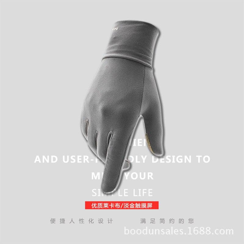Burton winter must touch men and women warm sanding Lycra sport touch font b gloves b