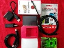 Elecrow 10 in1 Ras pi 3 Kit Raspberry Pi 3 Model B Board+3.5 HDMI Display GPIO+Acrylic Case+16G Memory Card for Linux Beginner