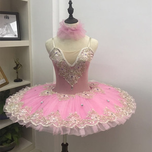 Image 1 - 2019 professional ballet tutu child kids girls ballet tutu adulto women ballerina party ballet mujer dance costumes for girls