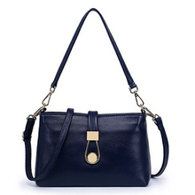 shoulder casual satchels small leisure tote wristlets  hot sale bags high quality genuine leather handbag  crossbody women bag