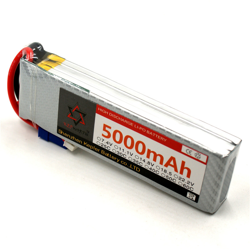 3s <font><b>11.1v</b></font> <font><b>5000mAh</b></font> <font><b>Lipo</b></font> <font><b>Battery</b></font> RC Car Plane Boat Lithium Ion Polymer <font><b>Battery</b></font> For Truck Tank Drone Helicopter image
