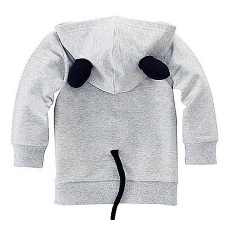 Baby Girls Hoodies Sweatshirt For Boys 2018 Hot Sale Cartoon Minnie Mitch Cotton Full Fashion Sweatshirt Kids Children Clothing 1