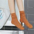 2016 nova Moda Feminina Retro Ultra Confortável Estilo Étnico Algodão Meias Meias Quentes de Inverno meninas Meias meias das mulheres Étnica Do Vintage