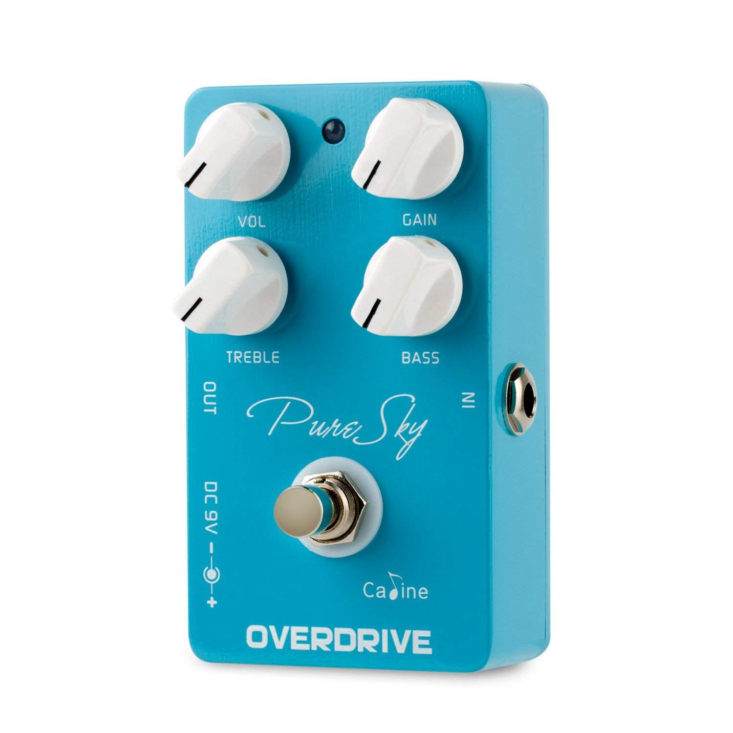 SEWS-CALINE Overdrive Guitar Effect Pedal High True Bypass with Aluminum Alloy Housing CP-12 Pure Sky image