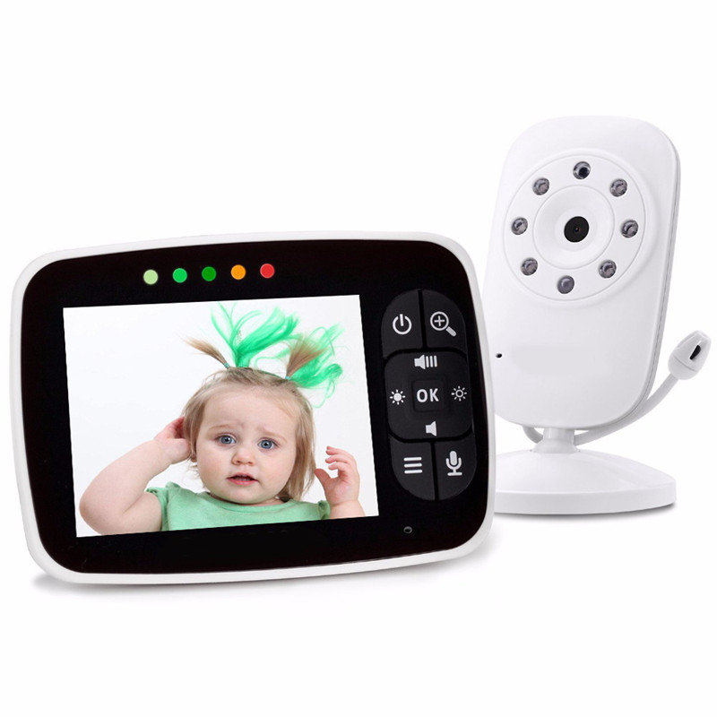 MBOSS Smart Baby Monitor 3.5 Inch LCD Digital Camera Wireless Babysitter Video&Audio MonitorMBOSS Smart Baby Monitor 3.5 Inch LCD Digital Camera Wireless Babysitter Video&Audio Monitor