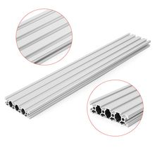 SULEVE New 1PC HL2080 350mm/500mm Length 2080 T-Slot Aluminum Profiles Extrusion Frame For CNC 3D Printer Parts DIY High Quality(China)