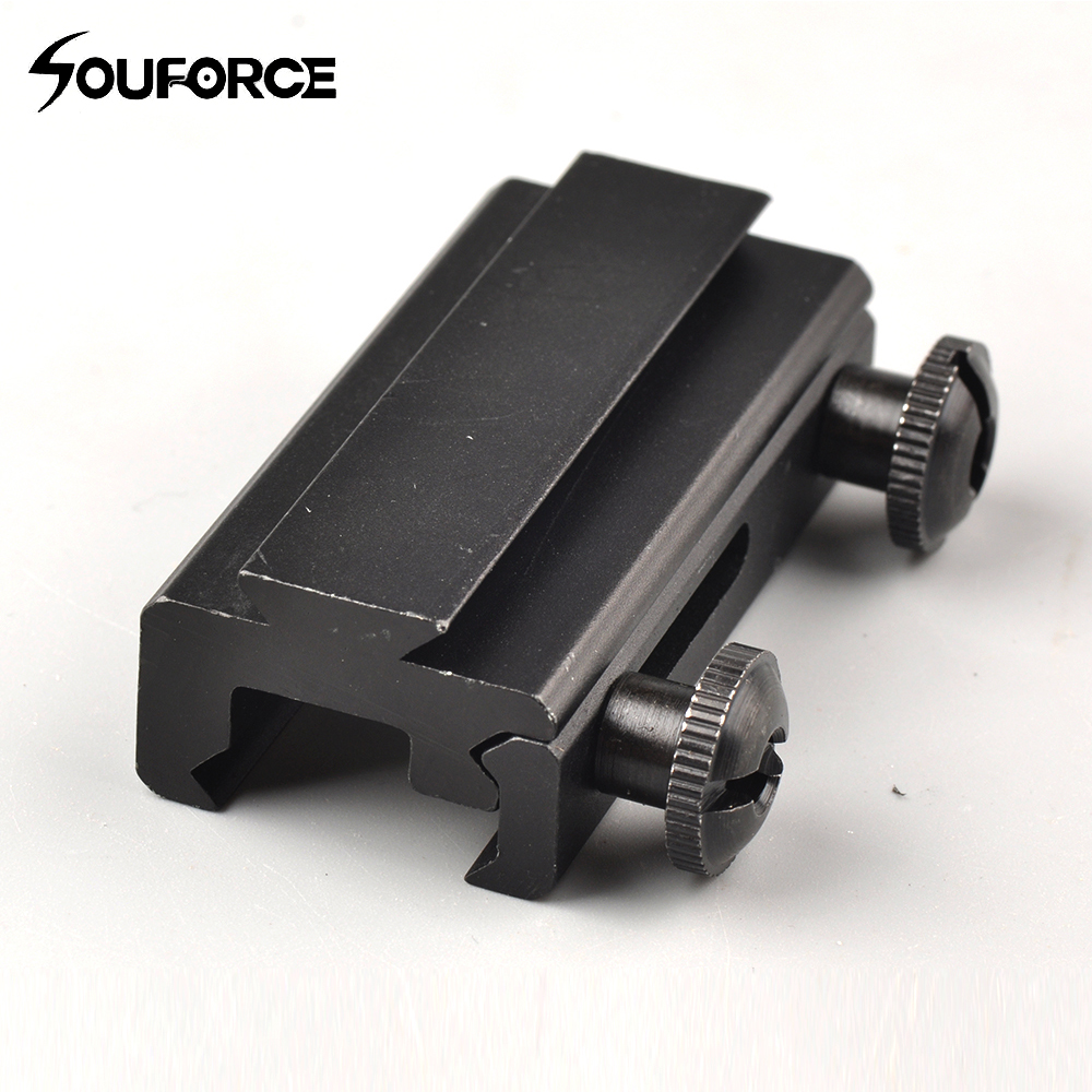 20mm Weaver Picatinny Rail Base Adaptor Fit 11 Mm Scope Rail Mount For Hunting Riflescope Laser Sight