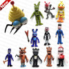 Hot Pop Russian Children Freddy Toys Action Figures PVC Toy For Boys Gift 12 PCS Lot
