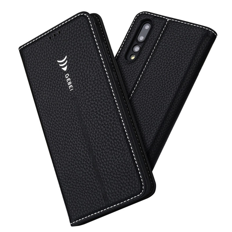 All-Inclusive Mobile Phone Case Suitable For Huawei P20 Flip Card Suitable For Huawei P20pro Leather Touch Protector