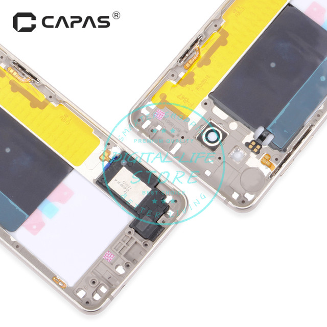 Online Shop Middle Faceplate Frame for Samsung Galaxy A5 2016 A510 ...
