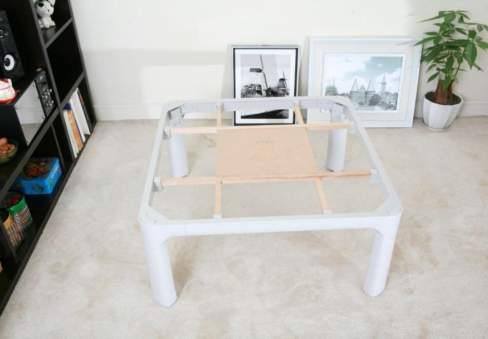 Kotatsu tafelpoten Opvouwbaar Klein formaat 60cm voor 1-2 personen - Meubilair - Foto 3