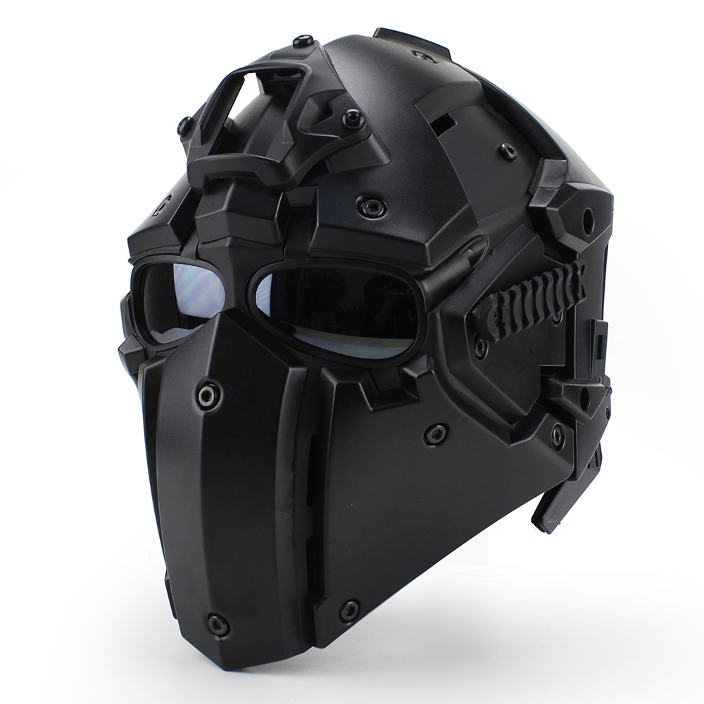 Motorcycle Helmet Full Face Bicycle Tactical Helmets Four ...