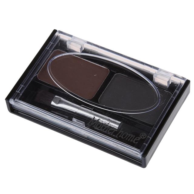 BEST Eyebrow & Multi Color For Waterproof Eyebrow Shaping Powder Eyeshadow – Coffee and Black