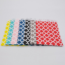 13x18cm Clover Flower Paper Bags Grease Proof Paper Bags Popcorn Bags Party Food Paper Bag Wedding Birthday Party Supplies water proof grease