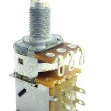 Двухтактный аудио 10 к 25 к 50 к 100 к 250 к 500 к без центрального щелчка переключатель DPDT потенциометр