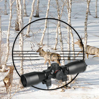 PPT new arrival 4x32 rifle scope hunting viewing angle of objective 4.8 gs1 0257