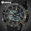 INFANTRY Men Watches Luxury Analog-digital Dual Time Clock Male Sports Military Chronograph Quartz Wrist Watch Relogio Masculino