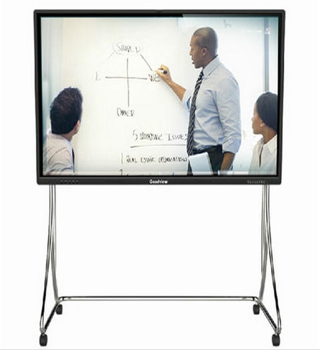55 Inch Classroom Teaching Equipment All In One PC+Touch Screen TV+Interactive Whiteboard