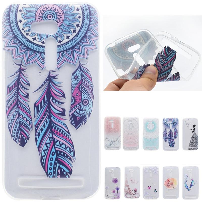 Caricatura de lujo Mariposa linda Chica Torre Bicicleta TPU Fundas - Accesorios y repuestos para celulares