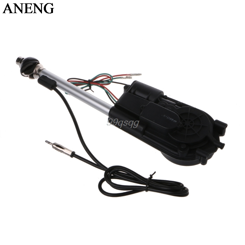 New 12V Universal Car Auto AM FM Radio Electric Power Automatic Antenna Aerial Kit For Toyota Camry Cadillac Jeep Grand Cherokee am fm radio car automatic power booster antenna mast kit auto aerial for mercedes toyota jeep kia vw audi ford focus mk2 mk3