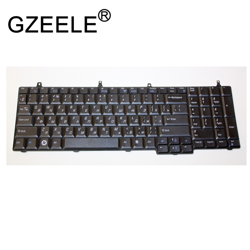 GZEELE new for Dell Vostro 1710 1720 Russian V081702AS 0J720D J720D RU version laptop keyboard