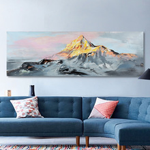 Frameless Mountian Handed Painting Printed painting Oil Painting By Numbers Home Decor Wall Art Picture For Living Room