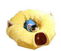 Creative Cat Furniture Playing For Cat House Sleeping bag Pet Funny Long Tunnel dog bed nest