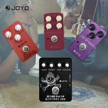 JOYO Classic Tube Crunch Distortion High Gain Electric Guitar Effect Pedal True Bypass