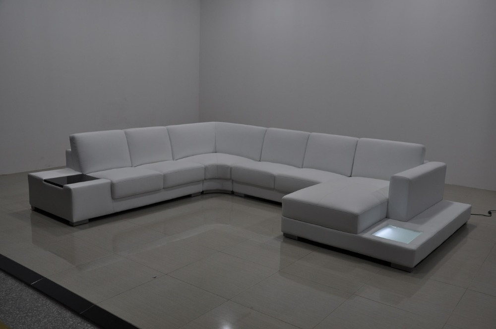 Superieur Modern U Shape Sofa With LED Light 0413 A1110 In Living Room Sofas From  Furniture On Aliexpress.com | Alibaba Group