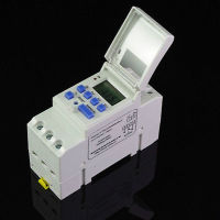 1 X DIN RAIL DIGITAL PROGRAMMABLE WEEKLY TIMER Relay 220V 16A