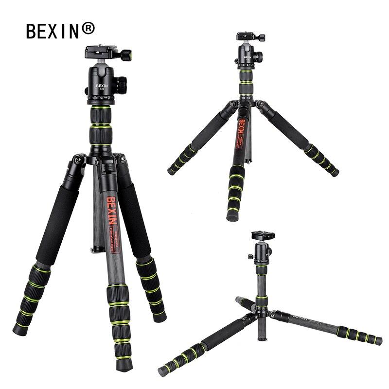 BEXIN Fotografía Portátil de fibra de carbono Trípode de cámara - Cámara y foto - foto 4