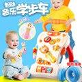 2017 Novos Caminhantes Carrinho de Bebê Brinquedo da Música 1-3 Anos de Idade As Crianças Passo Multi-função de Aprendizagem Para Velocidade de caminhada Ajuda Carro Babyshining