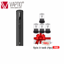 Vape pen Vaptio Spin IT kit 15W electronic cigarette vape 650mAh built-in battery 1.8ml Atomizer dropshipping supported