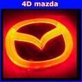 Автомобильные светодиодные лампы эмблема 4D логотип Холодный свет украшения знак стикер лампы для mazda8 mazda 6 2 3 cx-7 4d логотип лампы