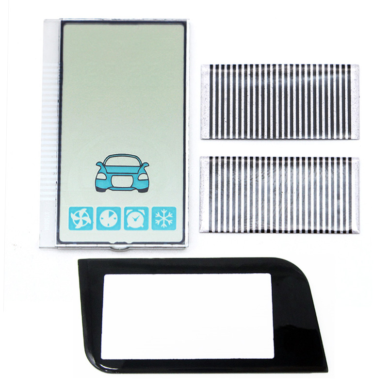 New A93 GSM Display Vertical Screen+Glass For Starline A93 GSM Lcd Display Remote Controller