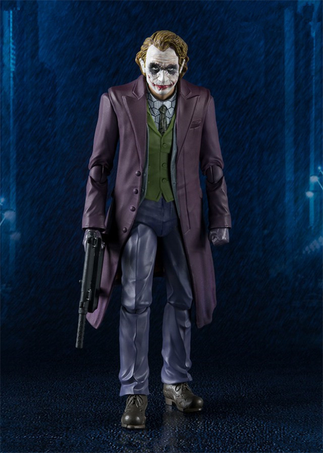 SHF S.H.Figuarts Batman The Dark Night Joker PVC Action Figures Collection Model Toys Doll 15cm